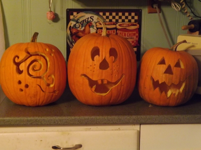 Carved pumpkins 2015